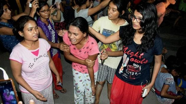 <p>A number of students, including women, and two journalists were injured in a lathi charge by the police in the Banaras Hindu University (BHU) where a protest...