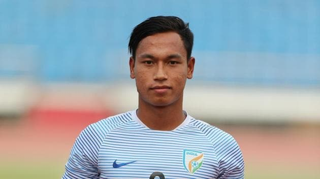 Amarjit Singh will lead the Indian team at the FIFA U-17 World Cup.(AIFF)