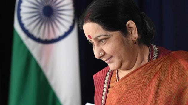 Indian external affairs minister Sushma Swaraj said the Emir has also directed that the sentences of 119 Indian nationals be reduced.(REUTERS)