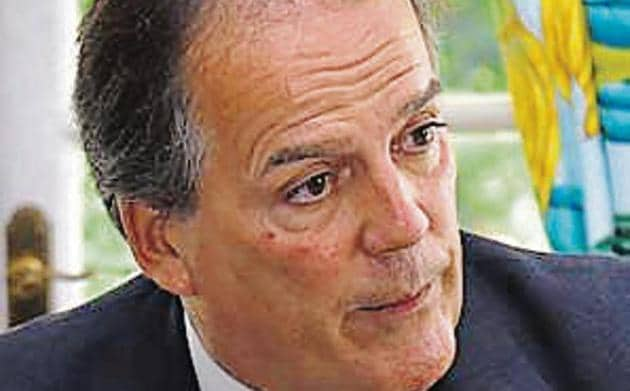 British minister for Asia Mark Field.