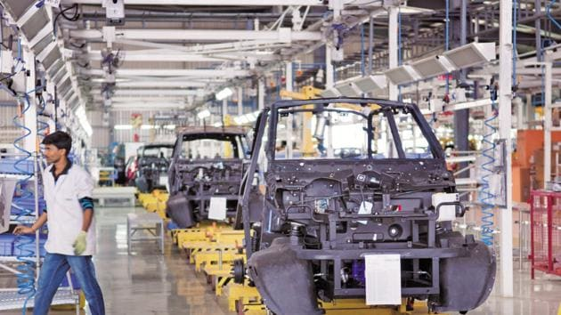 The index remained unchanged from August. However, it indicated a modest improvement in manufacturing sector business conditions in September.(File)