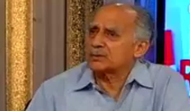 Arun Shourie spoke against the government's policies in an interview.(Video screengrab)