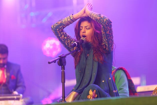 Jyoti Nooran, of the duo Nooran Sisters famous for their track, Patakha Guddi, from the movie Highway, will be performing for the second time at Paddy Fields