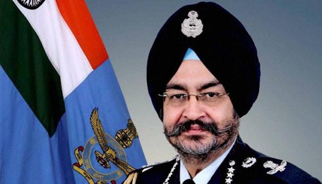Air Chief Marshal BS Dhanoa.(PTI File Photo)