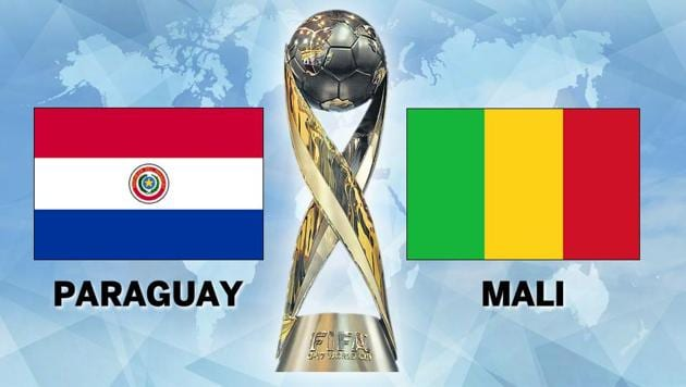 Paraguay beat Mali 3-2 in a Group B match of the FIFA U-17 World Cup in Navi Mumbai today. Get full football score of Paraguay vs Mali here.(HT Photo)