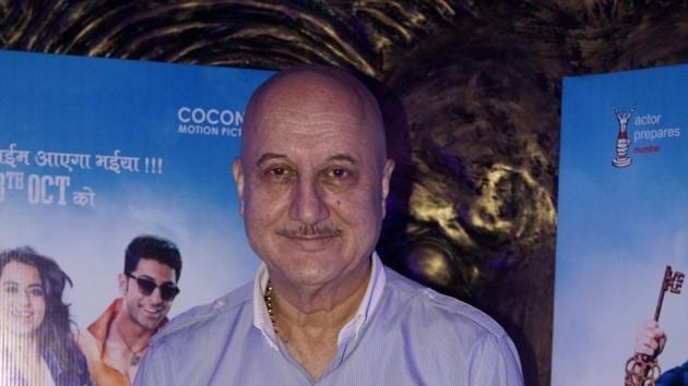 Anupam Kher has been appointed as the new FTII chairman.(IANS)