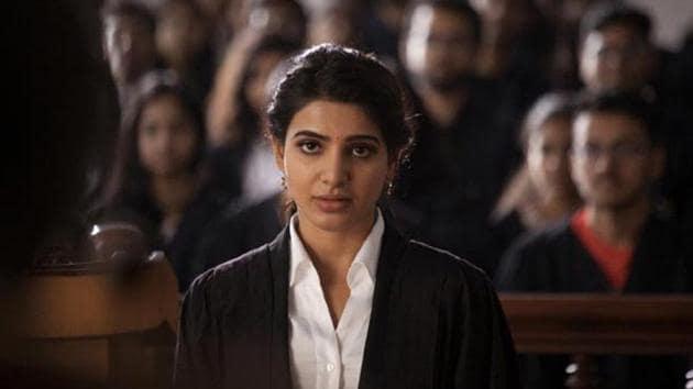 Samantha Ruth Prabhu is said to be playing a ghost in Raju Gari Gadhi 2. The film also stars Nagarjuna.(Twitter)