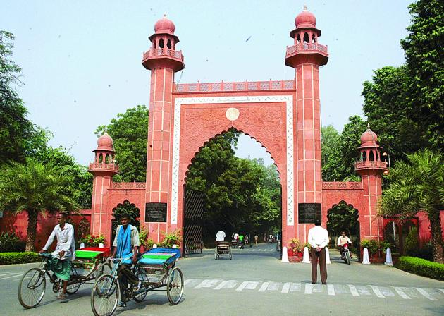 The Centre must now revive the democratic functioning of the Benaras Hindu University by restoring BHU Act, which has been under suspension for decades. Similarly the minority character of the Aligarh Muslim University (in photograph) must be preserved.(Hindustan Times Media)
