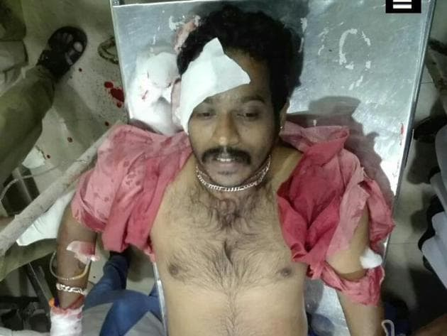 Nidesh (28), the RSS worker, was critical and he had been shifted to the Kozhikode Medical College hospital.(ANI Photo)
