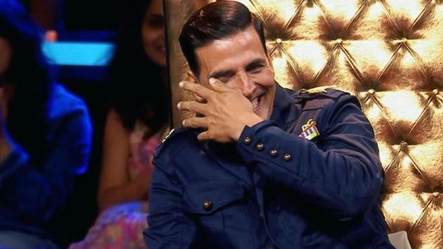 Akshay Kumar is the super judge of The Great Indian Laughter Challenge.