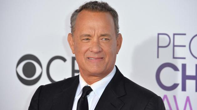 Tom Hanks at the 2017 People's Choice Awards at The Microsoft Theatre in Los Angeles.(Shutterstock)