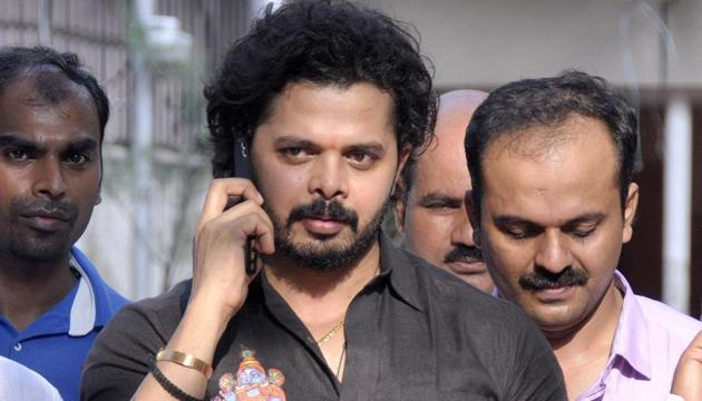 The life ban imposed by the Board of Control for Cricket in India on former Indian pacer S. Sreesanth will stay, according to an order by a division bench of the Kerala High Court.(AFP)