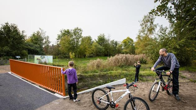 Now, you can cycle down the world's first 3D-printed bridge in the Netherlands