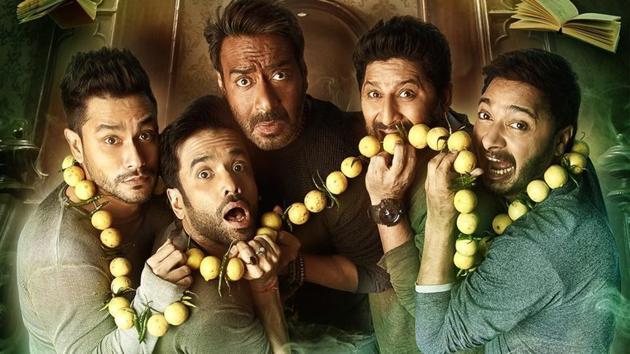 Ajay Devgn, Tusshar Kapoor, Arshad Warsi, Shreyas Talpade and Kunal Kemmu are back with Rohit Shetty's Golmaal Again.
