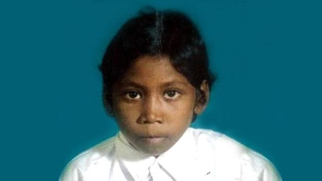 Santoshi Kumari died on September 28 after starving for four days in absence of ration at home.(HT Photo)