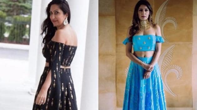 This wedding season, flaunt your traditional lehenga with a modern twist