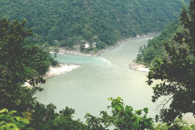 The Pancheshwar dam will be constructed on the Mahakali River along the India-Nepal border.(HT File Photo.)