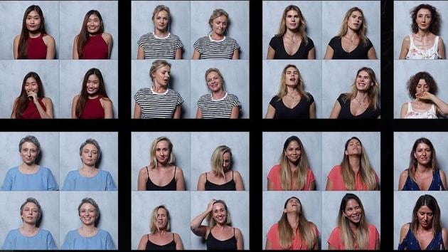 Breaking taboo: This photo series captures women before, during and after orgasm