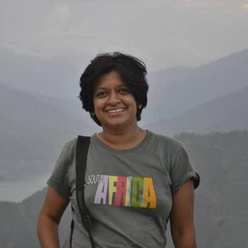Aditi Deodhar, software consultant and also one of the founders of Jeevitnadi – Living River Foundation, began the Brown Leaf initiative in February 2016.(HT Photo)