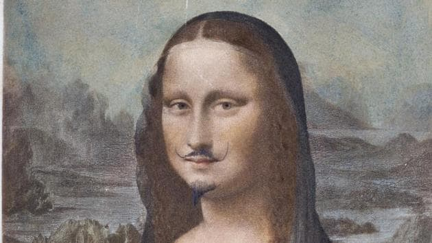 Conceptual artist Duchamp's moustachioed Mona Lisa sells for $750,000 at Sotheb...