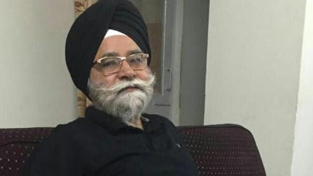 GS Gill, national president of the Rashtriya Sikh Sangat(HT File)