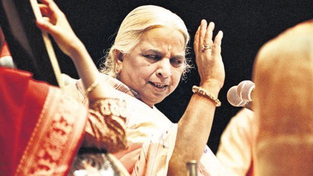 Girija Devi passed away at the age of 88 in Kolkata.(File Photo)