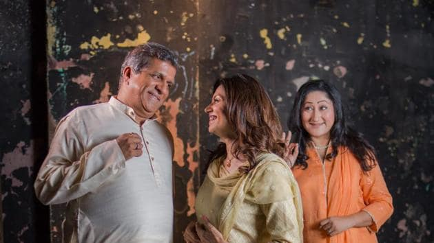A still from the play, Salaam, Noni Appa, which is based on an unusual love story, written by Twinkle Khanna for her novel, The Legend of Lakshmi Prasad. Directed by Lillete Dubey, it will be staged in Delhi on October 29.