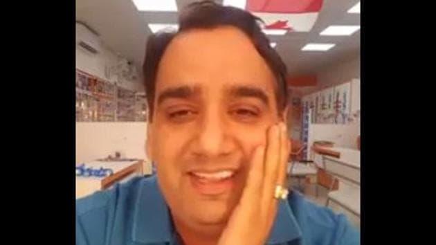 Vinay Hari(Facebook grab)