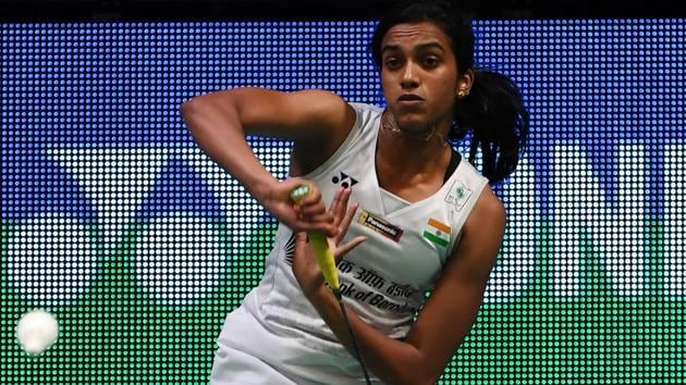 PV Sindhu bowed out of the French Open Superseries with a semi-final loss to Japanese badminton player Akane Yamaguchi.(AFP)