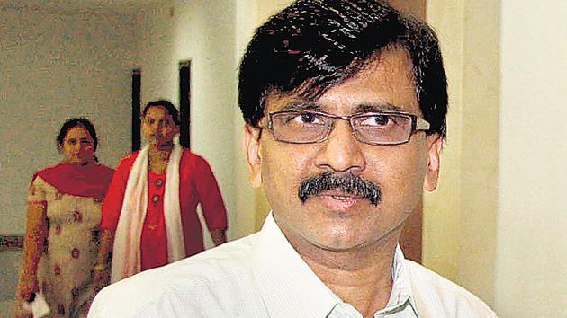 Senior Shiv Sena leader Sanjay Raut(HT FILE)