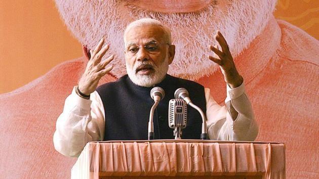 Prime Minister Narendra Modi.(Raj K Raj/HT file)