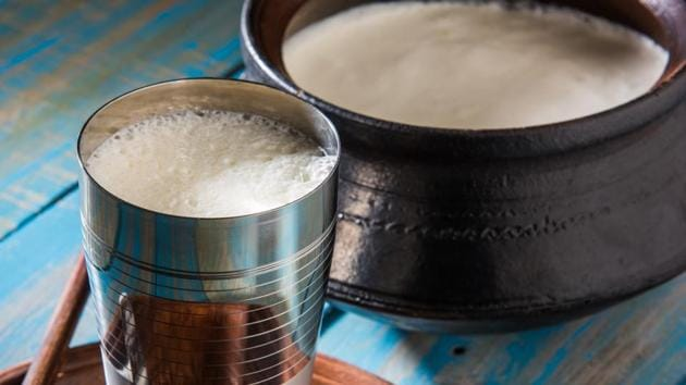 The woman mixed poison into her husband's milk last week but he initially failed to drink it. It was instead blended into a batch of yoghurt-based lassi and served to the man's family.(Shutterstock)