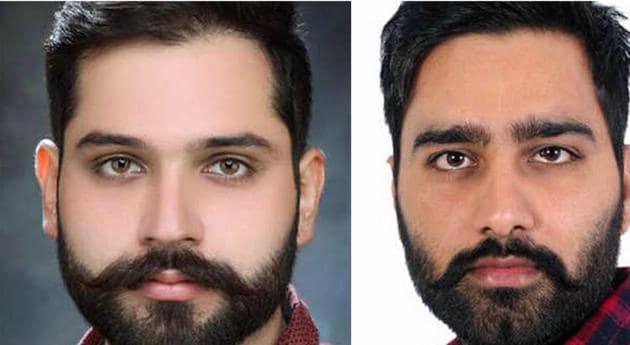 Armandeep Singh Cheema (L); and Harman Singh Virk(HT Photos)