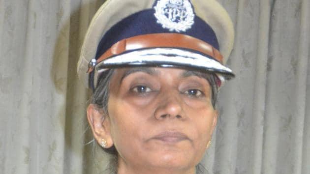 Karnataka's first woman DG-IGP Neelamani N Raju.(HT Photo)