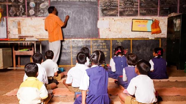 """The Patna high court on Tuesday ruled that """"Niyojit"""" teachers, who were hired on a consolidated pay, were entitled to salary on a par with regular teachers working in various government schools in Bihar.(Getty Images)"""