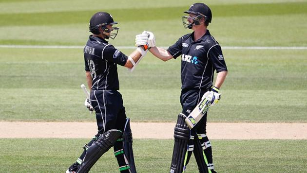 Both Tom Latham (L) and Colin Munro (R) have shown consistency with the bat in recent times for New Zealand.(Getty Images)