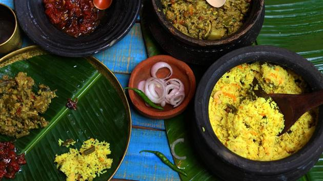 Khichdi - prepared using rice, pulses, coarse cereals and spices - has been selected as a Brand India Food because it symbolises the country's unity in diversity.(Shutterstock)