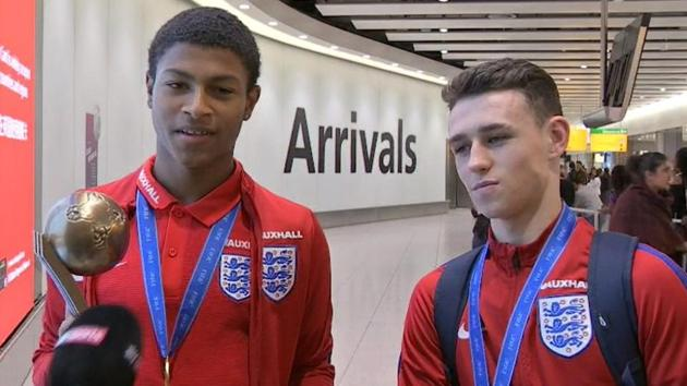 England's U-17 footballers returned home after achieving what their senior counterparts have failed to do in 51 years. The youngsters stunned their Spanish opponents (5-2) in the final in Kolkata to win the FIFA U-17 World Cup. Inspired by Philip Foden and Callum Hudson-Odoi, who repeatedly left Spain's left-back Juan Miranda flailing, the Young Lions produced a comeback story that will be narrated by each one of the 66,684 in the stadium years after FIFA revamps its youth competitions structure.