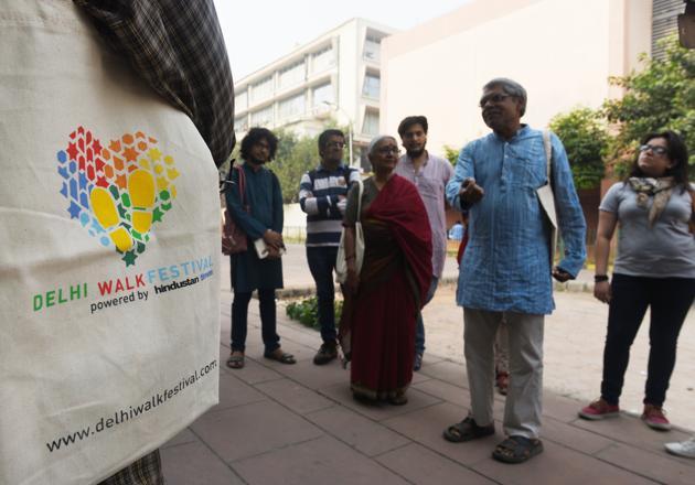 The Delhi Walk Festival this year has 170 walks on offer.(Vipin Kumar/HT Photo)
