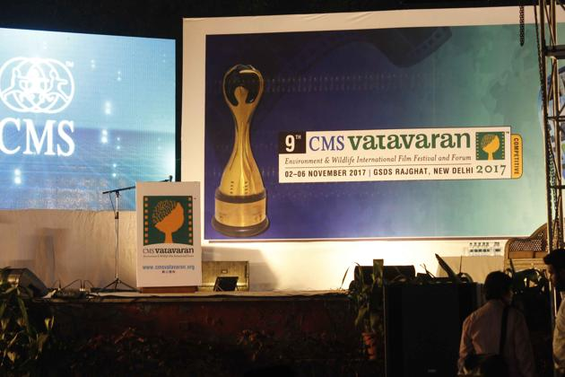 The 9th edition of the CMS VATAVARAN International Film festival is being held at Gandhi Smriti and Darshan Samiti, near Rajghat in Delhi. Over 100 environment focussed films are being screened over 4 days.(Courtesy CMS VATAVARAN)