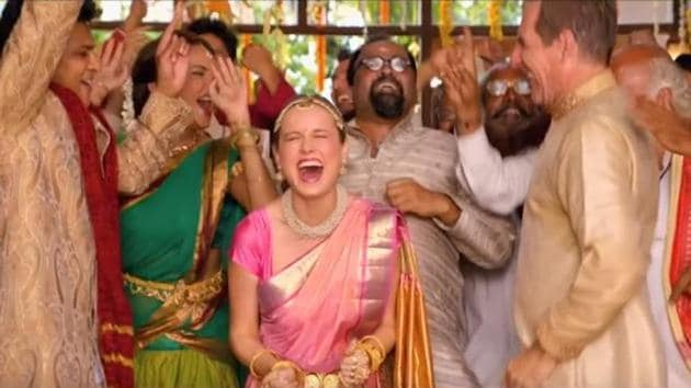 Brie Larson in a still from Basmati Blues.