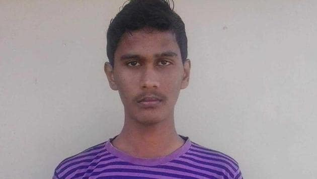 Akash, 23, has been arrested by the Chennai police after he escaped last night.(HT Photo)