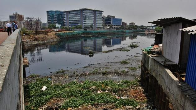 Mithi river recorded BOD (biological oxygen demand) of 250 and above between January and May. High levels of BOD indicate concentrated untreated sewage.(Praful Gangurde)