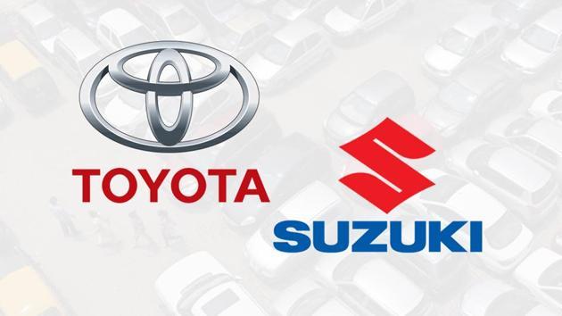A combination of Toyota, Suzuki logos.