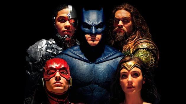 On a dark, rainy Gotham City evening Batman, Wonder Woman, Cyborg and the Flash make a decision.