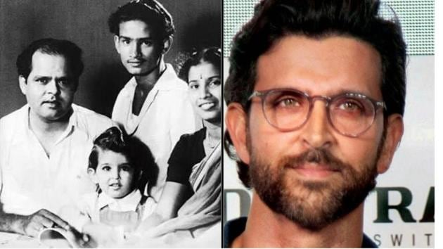 Hrithik shares pictures of his grandad.