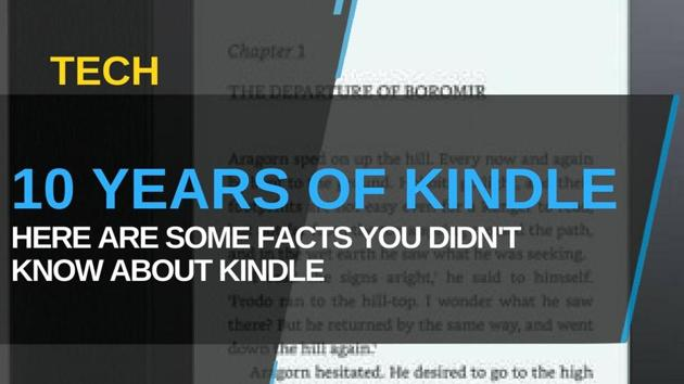 Kindle celebrates 10 years; here's a look at its last decade