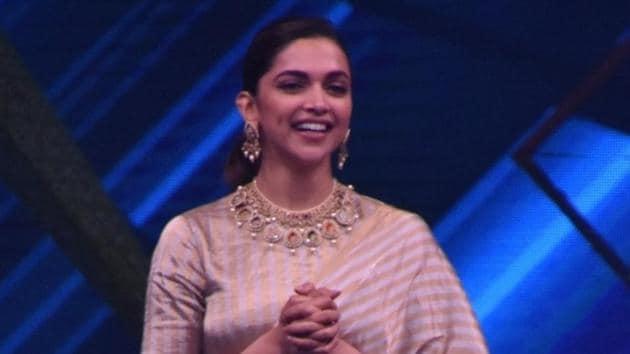 Deepika Padukone promotes Padmavati in Mumbai.(IANS)