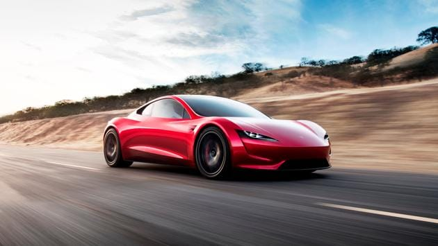 Tesla Roadster 2 would be able to reach 60 mph in 1.9 seconds and travel 620 miles before needing to recharge. (REUTERS)