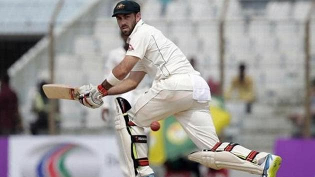 Glenn Maxwell has been included in the Australian squad for the first Test against England in Brisbane as cover for David Warner, who suffered a neck injury in the warm-ups.(AP)